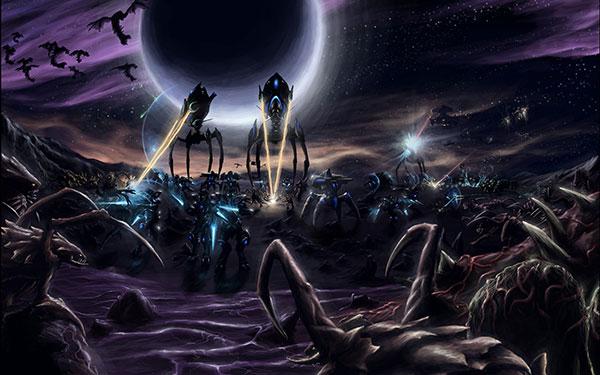 starcraft 2 protoss vs zerg